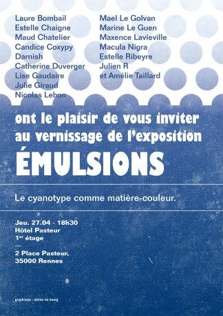 Affiche de Julien Lemière / L'Atelier du Bourg