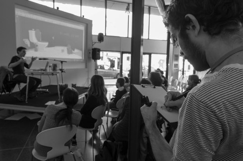 Matthieu Maudet, rencontre interactive
