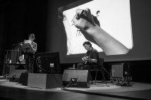 Avec les garçons, Performance de Brigitte Giraud, Fabio Viscogliosi et Nine Antico