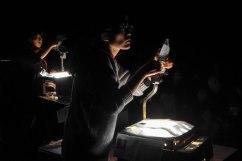 Etudes pour l'eau, théâtre d'ombre avec The fabulous Choi Sister et Mr. No