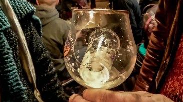 Verre dans le verre brisé