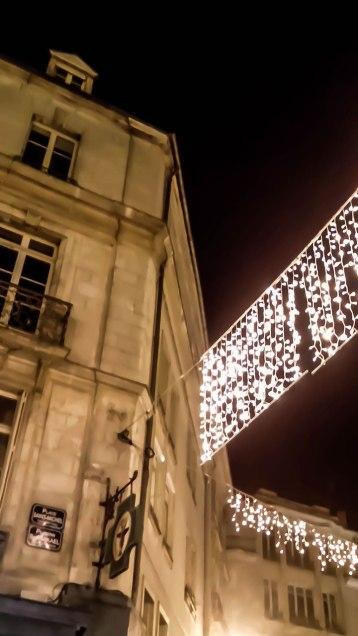 Place St Michel et les lumières de la ville (Idée de Xelle)
