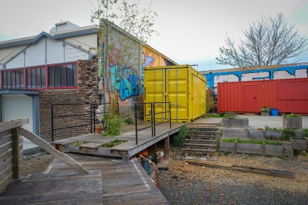 Le container jaune, Les Ateliers du Vent