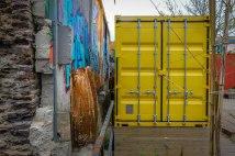 Le container jaune, résidence
