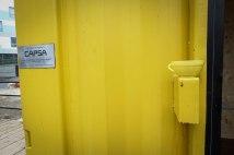 Le container jaune