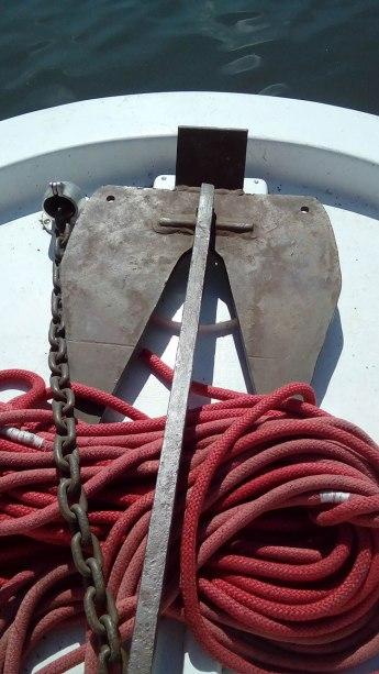 L'ancre à bord