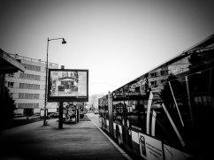 Travelling, même à l'arrêt de bus