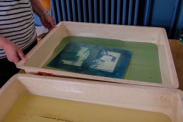 Exemple d'atelier Cyanotype