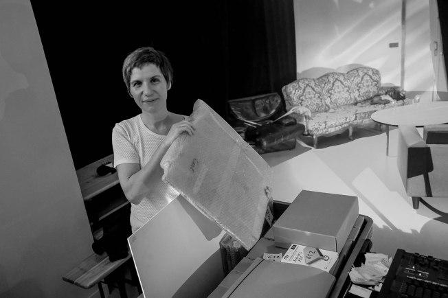 Céline Le Corre et les archives