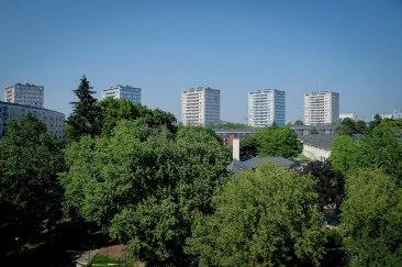 Vue de la fenêtre, 6e étage